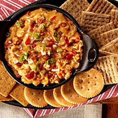 Chef Guy Fieri's Queso Dip @keyingredient #cheese #vegetables