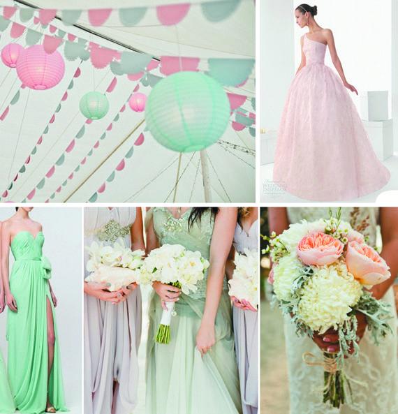 Les 19 meilleures images propos de mariage aux couleurs pastels sur pintere - Pinterest deco mariage ...