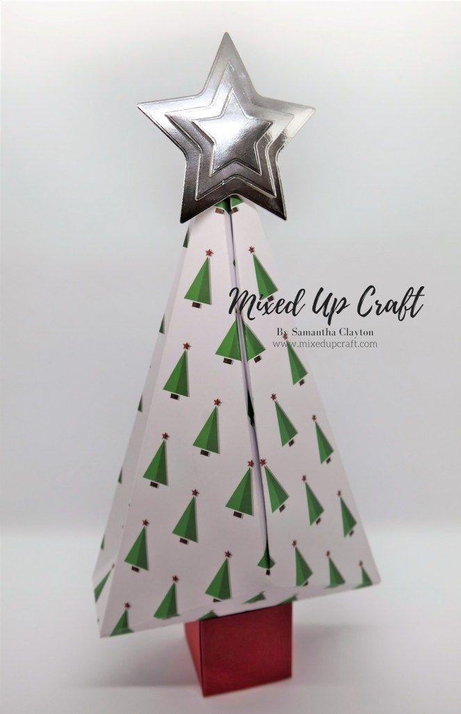 Christmas Tree Shaped Gift Boxes Christmas Tree With Gifts Origami Christmas Tree Christmas Gift Box