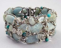 healthy water themed crafts part 6 - water bracelet inspiration