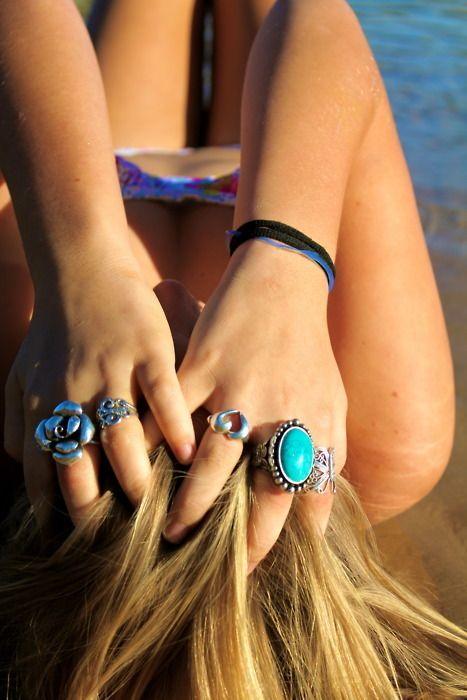 summer lovin' at the beach.