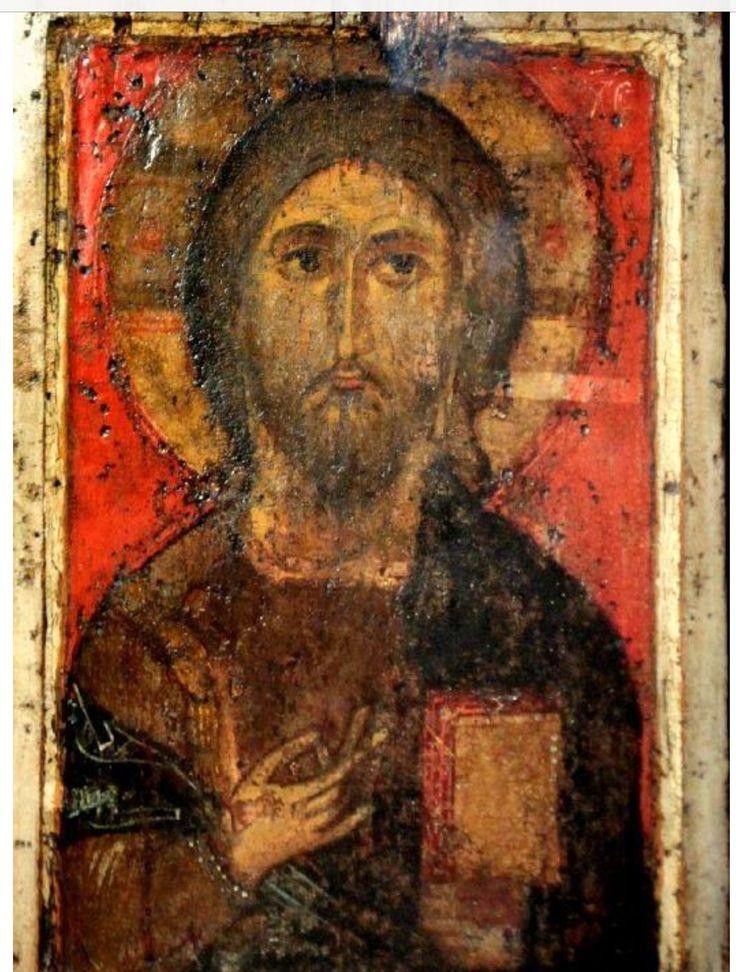 Εικόνα του Χριστού Παντοκράτορος,Πσκώβ,14ος αιώνας.