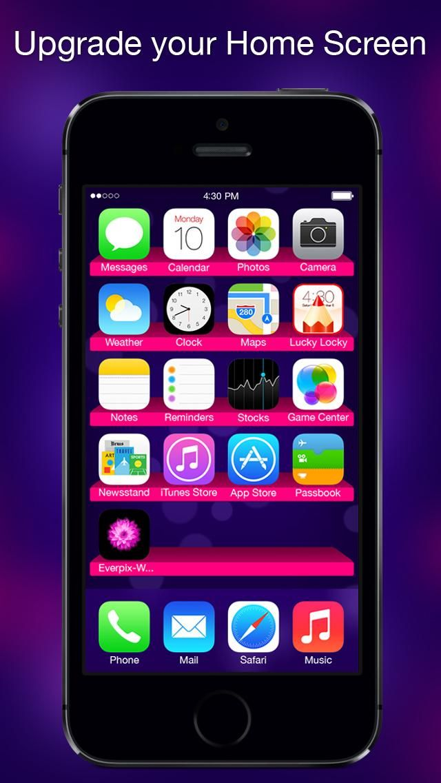 Lucky Locky - Themes for iOS 8 Cool custom Lock screen backgrounds