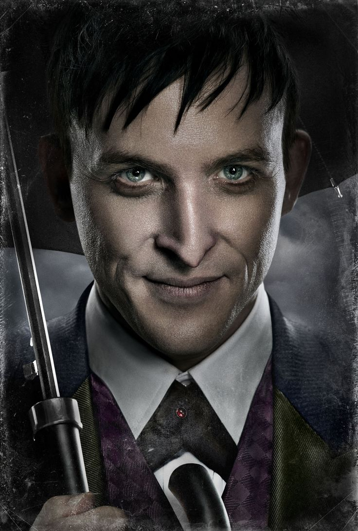 Robin Lord Taylor as Oswald Cobblepot in Gotham