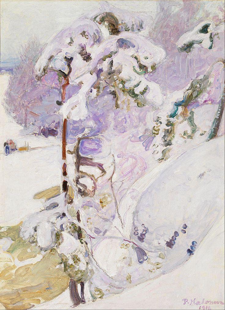 The Athenaeum - Early Spring (Pekka Halonen - )