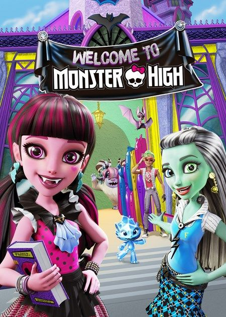 """ivanosoler: """" Welcome to Monster High Once upon a tomb, monsters lived in hiding, afraid they would be in danger if humans knew they existed. But Draculaura, daughter of Dracula, and her ghoulfriends dreamt of a school where everyone was welcome, and..."""