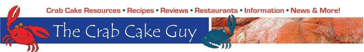The Crab Cake Guy! Nothing but Crab Cake Recipes.