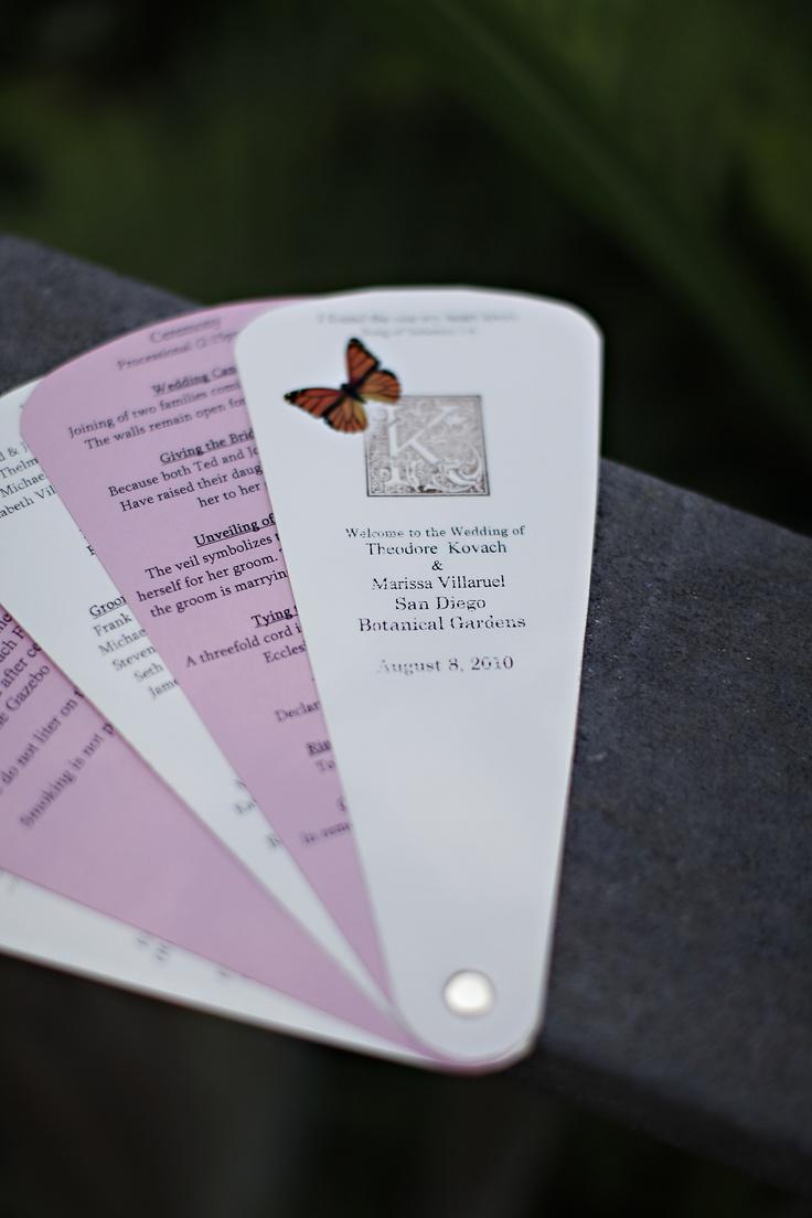 Best 25 fan wedding programs ideas on pinterest diy wedding fan wedding programs solutioingenieria Choice Image