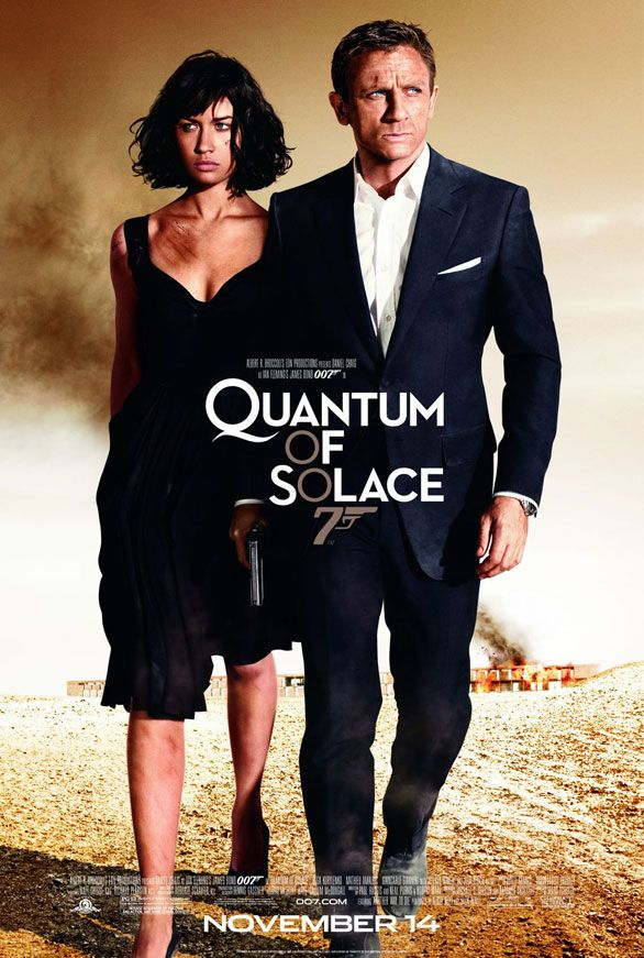 James Bond Quantum of Solace movie poster