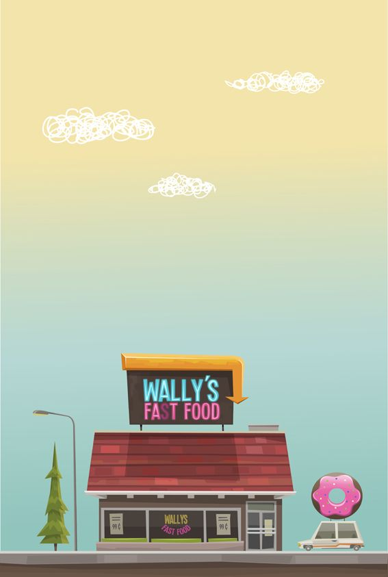 EMPLOYEE OF THE MONTH by Federico Bonifacini, via Behance