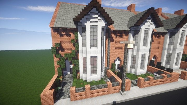 Small British Georgian House Minecraft Project