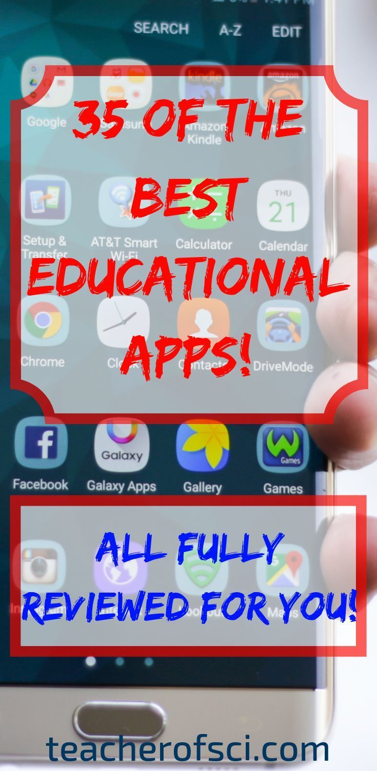 REVIEW: The 35 BEST Educational Apps for Students.