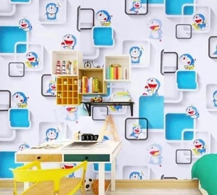 Paling Populer 13 Wallpaper Dinding Murah Di Balikpapan Harga Wallpaper Dinding Doraemon 700x700 Wallpaper Global Wallpaper D Di 2020 Dinding Kamar Anak Kamar Tidur