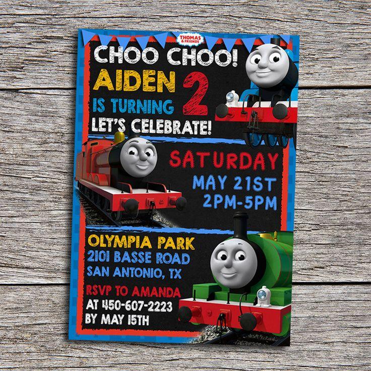 103 best Thomas Party images on Pinterest | Birthdays, Thomas ...