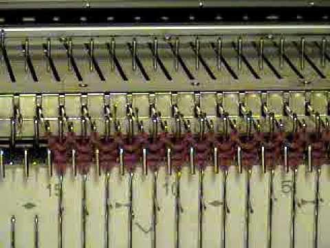 Ribber Lesson 23 Tuck Stitch Ribbing - YouTube