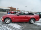 2008 Ford Mustang GT Red Convertible http://www.iseecars.com/used-cars/used-ford-mustang-under-20000#