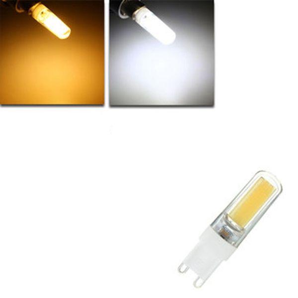 G9 LED 3W Pure White Warm White COB LED PC Material Light Lamp Bulb AC220V