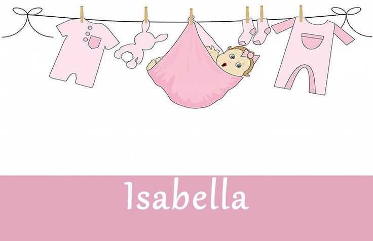 Isabella is a baby girl's name