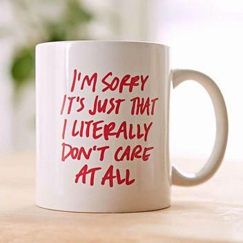 11 coffee mugs with cheeky sayings - sip your morning joe out of one of these and instantly have an amazing day