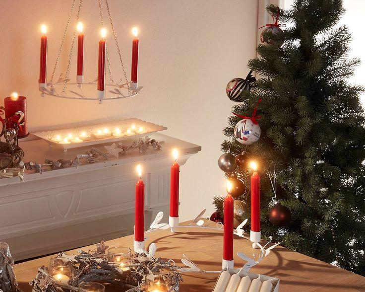 adventskranz weihnachtsdeko winter weihnachten d nisches bettenlager manka pinterest. Black Bedroom Furniture Sets. Home Design Ideas
