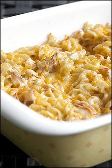 Baked Pasta With Chicken and Pepper Jack Recipe (added broccoli) very yummy!!