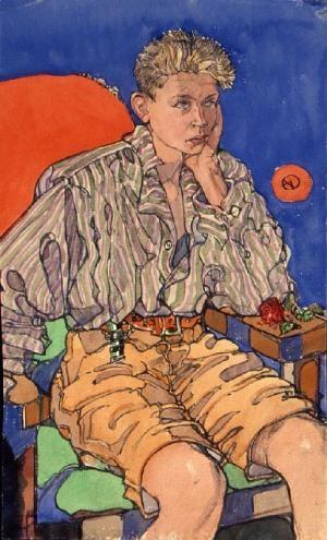Otto Jübermann by Albert Wainwright, 1928