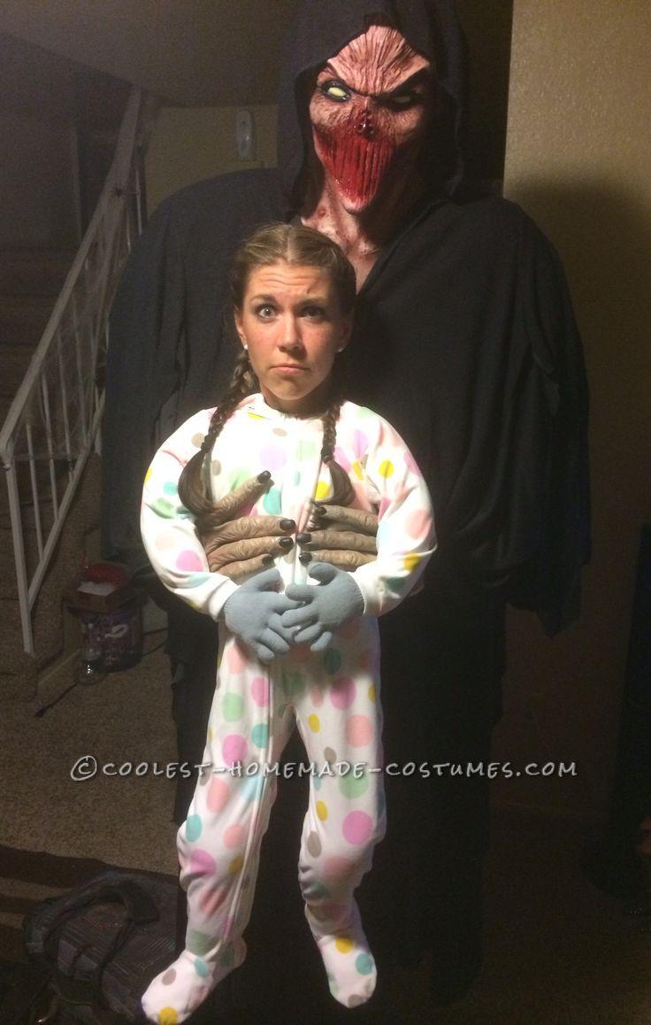 Cool Alien Abduction Illusion Halloween Costume ...
