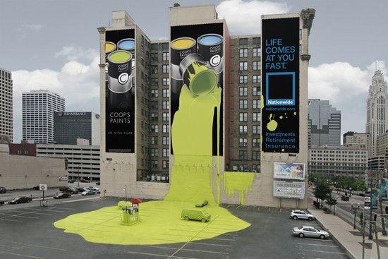 Nationwide Insurance: Spilt Paint