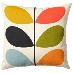Orla Kiely Multi Stem Cushion - polkadot.co.nz