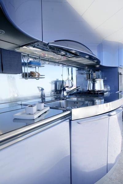 Kitchen Countertops - Granite, Corian, Laminate & Marble #spaceio #backsplashdesigns #kitchens #kitchenbacksplash