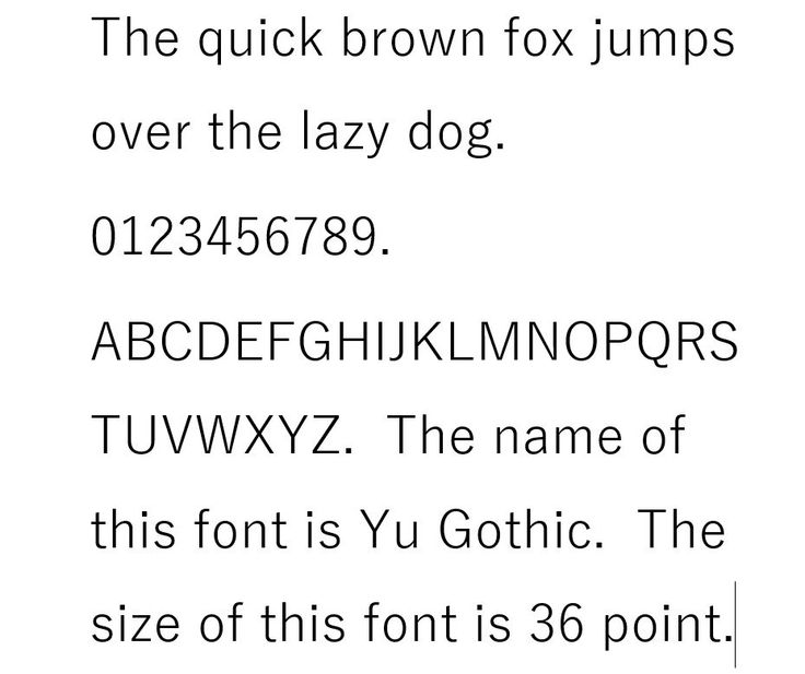 Ms-Pgothic Font