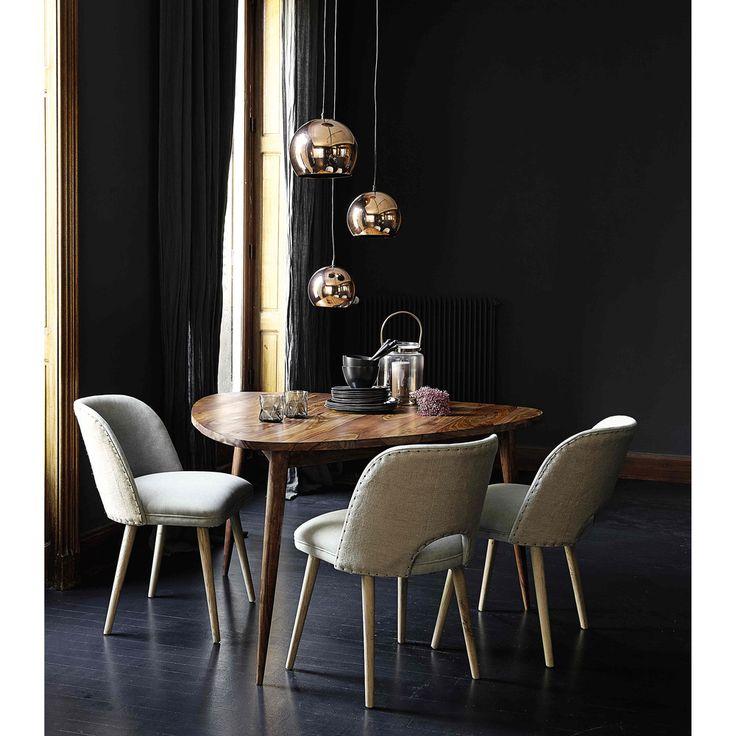 Tavolo vintage per sala da pranzo in massello di legno di sheesham L 136 cm Andersen | Maisons du Monde