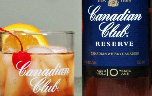 Canadian Club's 10 year whisky