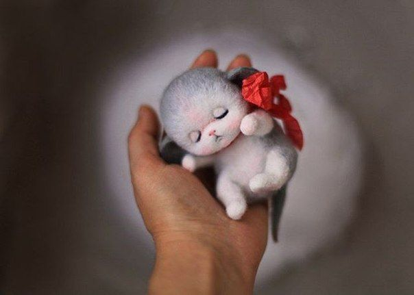 Надежда Мичеева. Авторские игрушки из войлока.