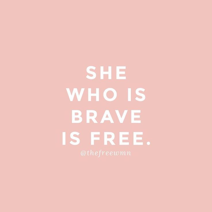 Bravery is never easy, but it's oh so worth it everytime.  Be brave. Be free. | thefreewoman.com