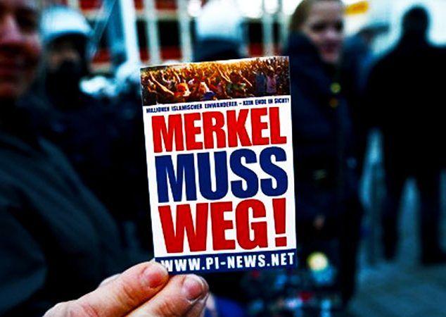 GERMANY IN UPROAR: Angela Merkel is splitting Germany right down the middle due…