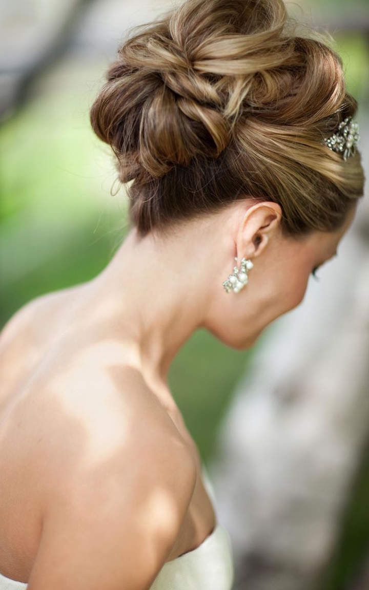high bun hairstyle #2