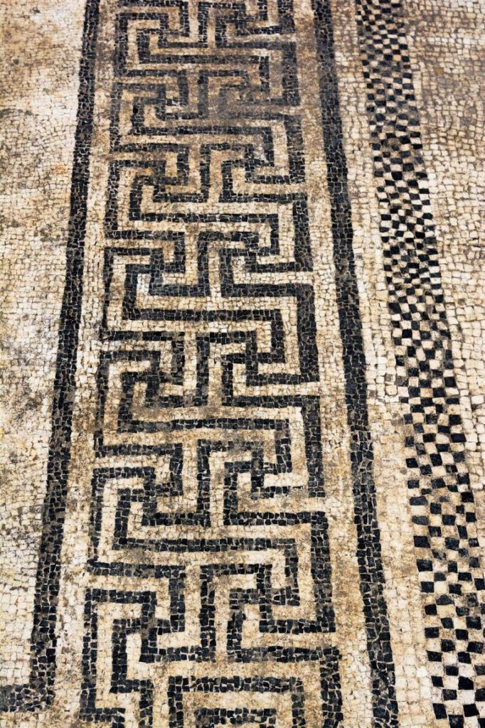 Archaeologists Excavate Magnificent Mosaics In The Long Lost Gallo-Roman City Of Ucetia