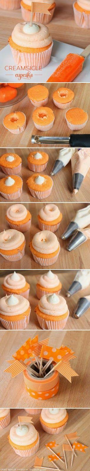 Creamsicle Cupcake Recipe