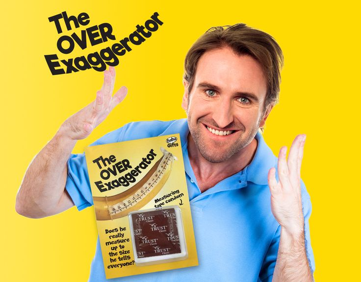 The Over Exaggerator! Measuring tape condom! Secret Santa gift from HahaGifts! https://www.haha-gifts.com #badsanta #secretsanta