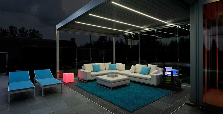 pergola led strip light and mostly led lighting