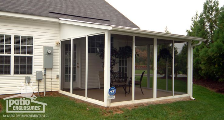 195 best porches patios and sunrooms images on pinterest for Screen room designs