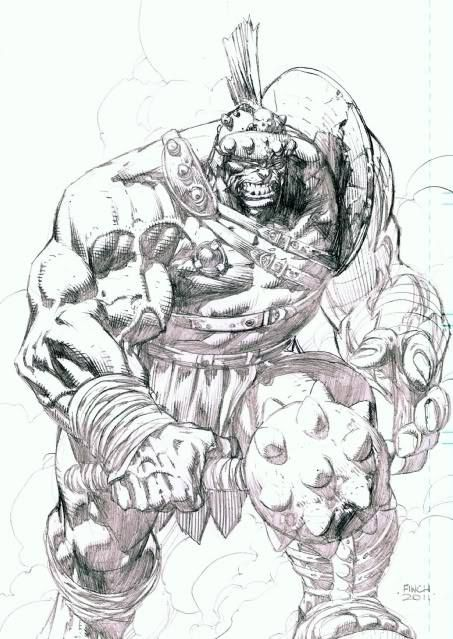 Planet Hulk by David Finch