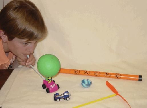 In this exploratory activity, learners experiment, observe and determine how various toys change from one form of energy to another. Learners play with a pull-back race car, a groan tube, a popper, physics flyer, and balloon car to explore energy, its forms (heat energy, sound energy, etc.) and how it changes forms from potential to kinetic energy.