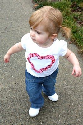 ruffly heart shirt