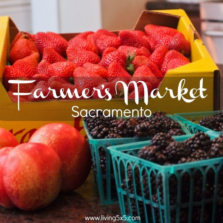 When I'm in need of fresh fruits or veggies, I take advantage of the Farmers' Markets in Sacramento. See what great deals you just can't pass up on fruits.
