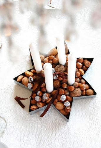 Beautiful Advent Candle Decoration