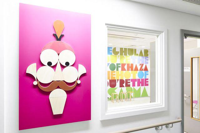 Szpital dziecięcy w Londynie Oddział Chorób Układu Oddechowego (MILLER GOODMAN, IMAGINARY MENAGERIE 2014)
