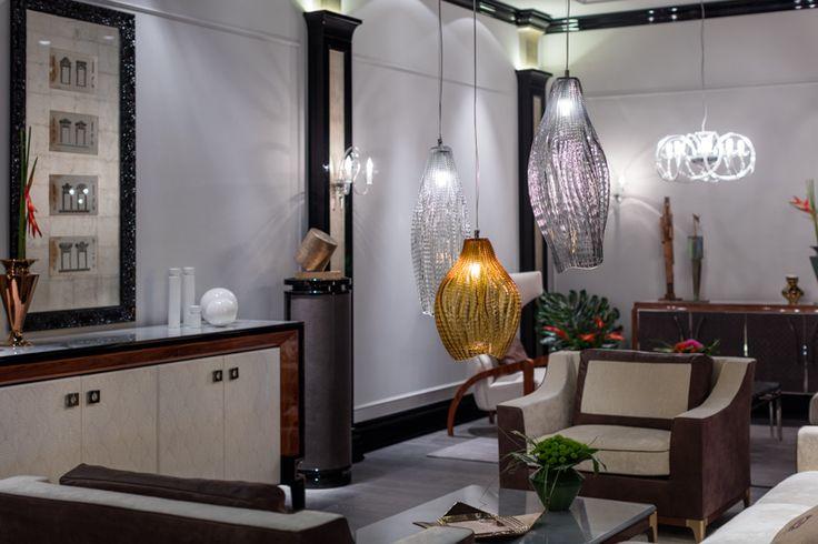 PRECIOSA Lighting & Giorgio Piotto at Salone del Mobile 2016. #light #residential #lighting #milandesignweek #design #crystal #luxury #muutos #jaroslavbejvl