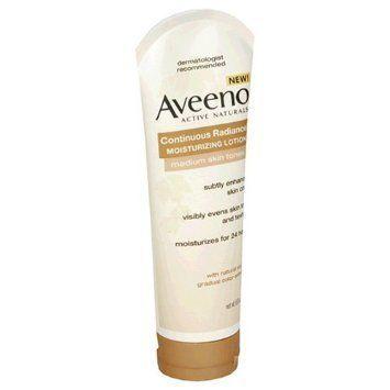 Aveeno Active Naturals Continuous Radiance Moisturizing Lotion Medium Skin Tones